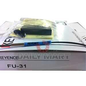 Keyence Reflective Fiber Optic Sensor Fu 31 Fu31 New In Box Nib Free Ship