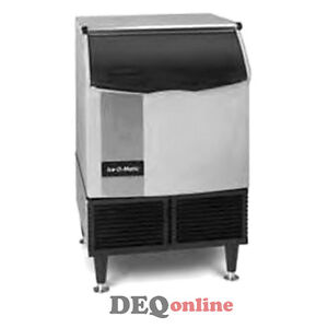 Ice o matic Iceu150ha Air Cooled 185 Lb 24 Hour Undercounter Cube Ice Maker