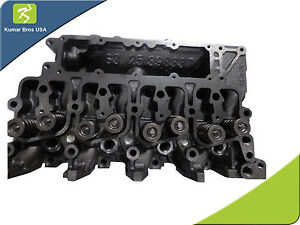 New Cummins 3 9l 4b 4bt 4bta Complete Cylinder Head With Valves