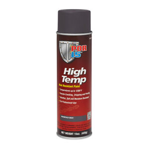 Por 15 44218 High Temp Aerosol Header Paint 1200 Degree Manifold Gray 15oz