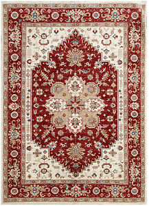 Red 7 X 9 Peshawar Rug Hand Knotted Oriental Rug