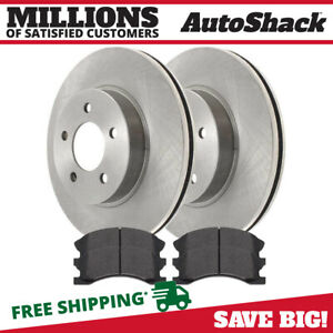 Front Rotors Ceramic Pads For 1999 2000 2001 2002 2003 2004 Jeep Grand Cherokee