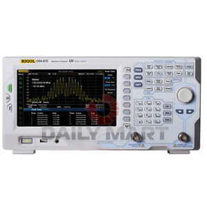 Rigol Dsa815 Spectrum Analyzer All digital 9 Khz 1 5 Ghz New