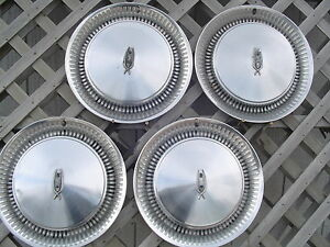 Oldsmobile Jetstar Custom Cruiser Rocket 98 Hubcaps Wheel Covers Center Caps