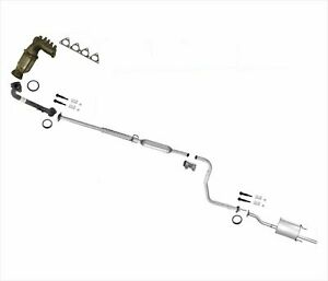 For Honda Civic Dx Lx Cv Converter Manifold Pipe Exhaust Coupe And Sedan 96 00