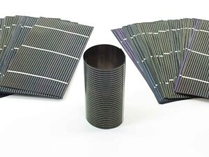 Solopower 1 25 Watts Lightweight Thin Flexible Cigs Solar Cell Lot Of 100