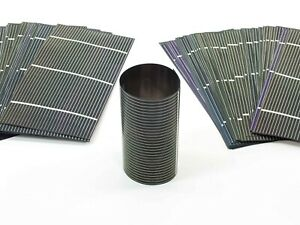 Solopower 1 25 Watt Flexible Stainless Steel Thin Cigs Solar Cell Lot Of 100
