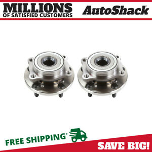Front Wheel Hub Bearing Assembly Pair 2 For Mitsubishi Endeavor Galant Eclipse