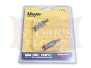 15619 Genuine Meyer Filter Set 2 Plow Pump Kit Rebuild E47 E60 Diamond Meyers