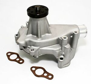 Sbc Long Aluminum Water Pump Natural Finish High Volume Small Block Chevy 350