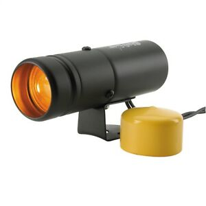 Autometer 5334 Black Shift Lite W Amber Light And Yellow Lens Cover