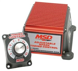 Msd Ignition 8680 Adjustable Timing Control For Msd Ignition Pull Rpm W Dial