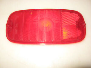 Vintage Red Replacement Tail Light Lens For 60 S Chevy Gmc Truck Tmc 719