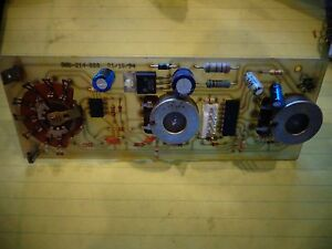 Century 860 489 666 Spot Stitch Welder Board