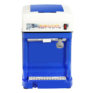 Pro Commercial Ice Shaver Snow Cone Machine Ice Crusher Maker Device The Best