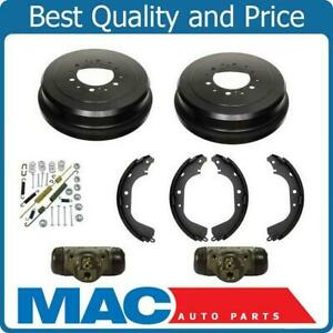 Rear Drums Shoes Spring Kit Wheel Cylinders For Toyota Tundra 03 06