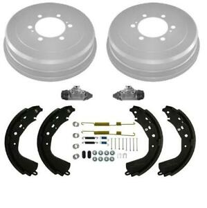 100 New Rear Brake Drum Drums Shoes Spring Kit Wheel Cylinder For 03 06 Tundra