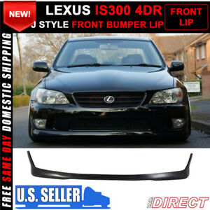 For 01 05 Lexus Is300 Altezza Sxe10 Front Bumper Lip Spoiler