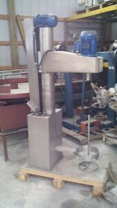 Zpt Dissolver Mixer All S s 3 Hp Variable Speed
