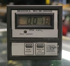 Pathfinder Instruments Mcm 3000 Mineral Content Lcd Digital Meter Salinity Test