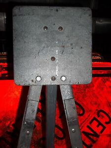 Road Construction Heavy Duty Steel Tripod Sign Stands holders