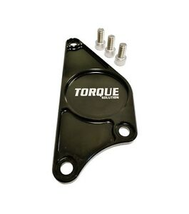 Torque Solution Billet Aluminum Cam Plate Black Fits Subaru Brz Scion Fr S 2013