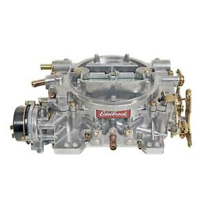 Edelbrock Performer Carburetor 4 bbl 600 Cfm Air Valve Secondaries 1400