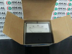 General Electric 2513 Panel Meter New In Box