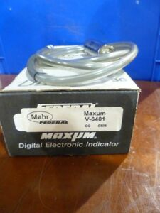 Federal Maxum Mahr V6401 Indicator New In Box