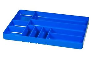 Ernst 5012 11 X 16 Ten Compartment Toolbox Organizer Tray Blue
