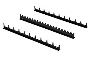 Ernst 6011 20 Tool Screwdriver Organizer Rail Kit Black Usa