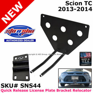 Sto N Sho Scion Tc 13 14 Quick Release License Plate Mounting Relocator Sns44