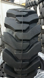 4 tires With Wheels Ty Solid 33x12 20 12 16 5 Skid steer Loader Tire 331220