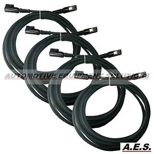 Hunter Alignment System Sensor Cable 20 Black Set Of 4