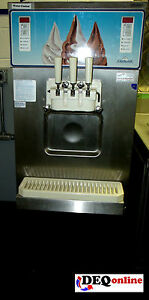 Carpigiani Uf 253 E Ice Cream Machine 3 Head Twist 208 230 Water Cooled Gravity