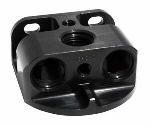 Moroso 23764 Remote Oil Filter Mount For Chevy Style Filters Billet 12an
