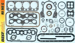 Chrysler 331 Hemi Full Engine Gasket Set Kit Best Head Intake Exhaust 1951 54