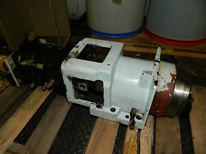 Matsuura Mc 600vdc Bt40 Spindle Assembly W Draw Bar Unit Right Side 1995