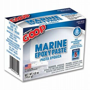Eclectic 5300031 10 Pack 4 Oz Amazing Goop Marine Epoxy Paste Light Beige