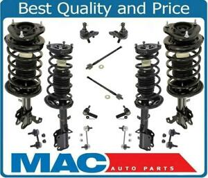 Front Rear Strut Assembly Suspension Kit Fits Toyota Corolla 96 02
