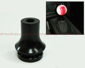 For 1988 2018 Honda Civic Blk Manual Shifter Knob Shift Boot Retainer Adapter