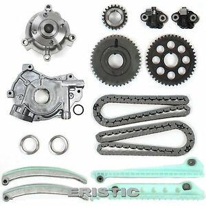 00 03 4 6l Ford Sohc Dohc V8 Mustang Timing Chain Kit W Water Pump