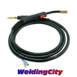 Hobart Mig Welding Gun Torch Stinger 100a 10 Replacement H 10 195957 Us Seller