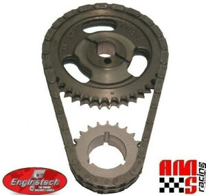 Ford Sbf V8 255 302 351 5 0l 5 8l Late Hd Double True Roller Timing Chain Set