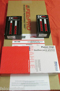 Ford 400 Engine Rering Kit Bearings Moly Rings 1977 78 79 80 81 82 Gaskets