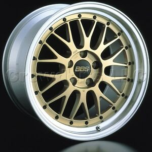 Bbs 19 X 8 5 Lm Car Wheel Rim 5 X 112 Part Lm249gpk