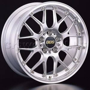 Bbs 18 X 8 Rsgt Car Wheel Rim 5 X 130 Part Rs925hdspk