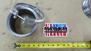 S400 T6 K31 Turbo Exhaust Flange Stainless Steel Clamp Pipe 100 Made In Usa