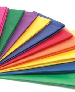 Tissue Paper Acid Free High Quality Party Sheets Wrapping 50cm X 37 5cm