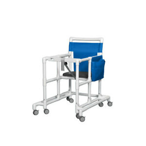 Extra Tall Ultimate Pvc Walker Blue 1 Ea